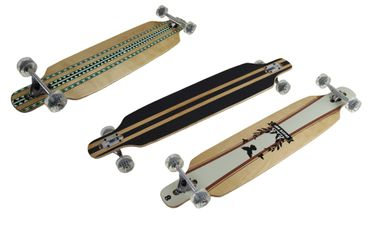 clamaro longboard 43 long board skateboard streetsurfer. Black Bedroom Furniture Sets. Home Design Ideas