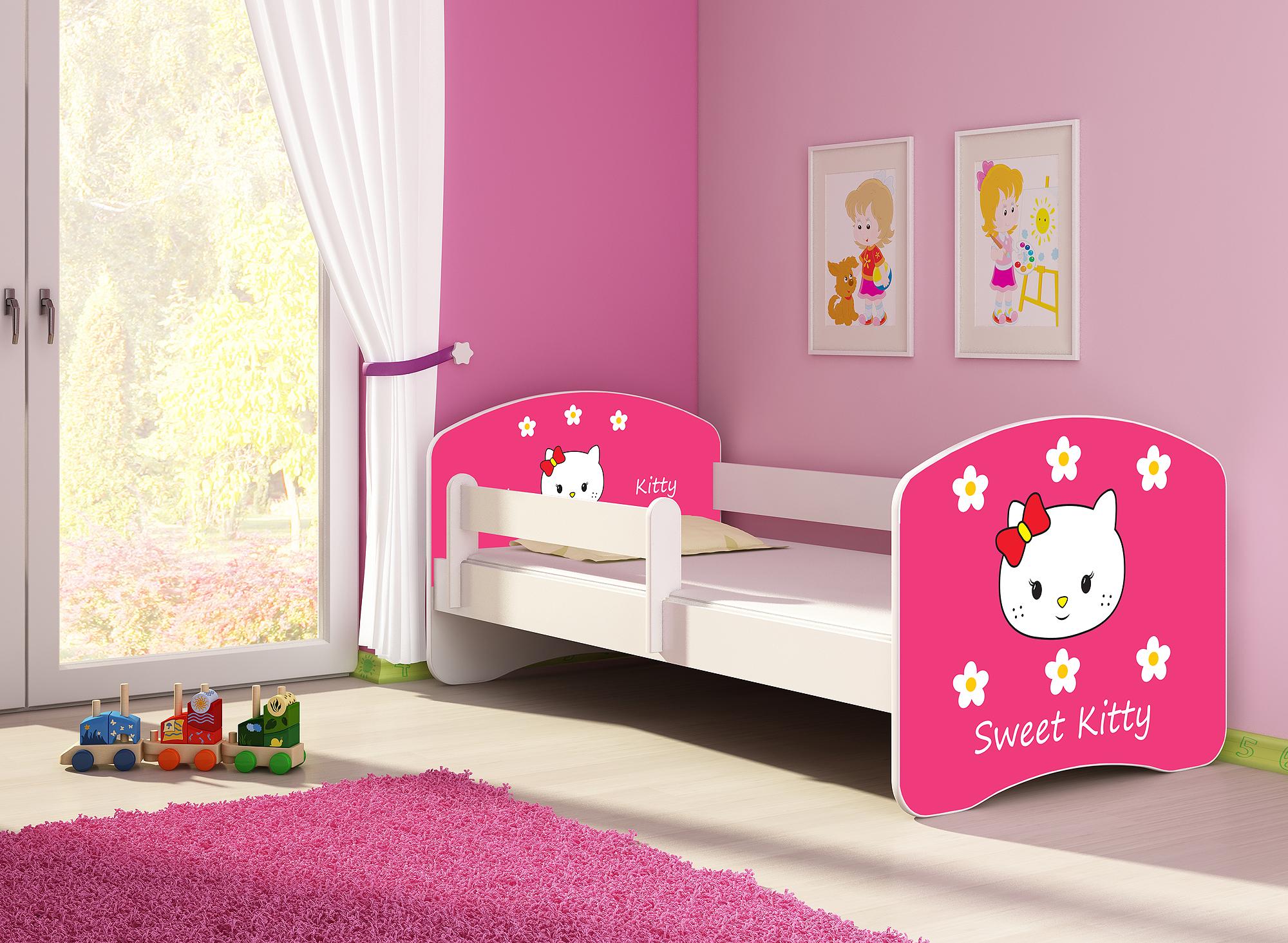 kinderbett fantasia clamaro in zwei gr en w hlbar mit. Black Bedroom Furniture Sets. Home Design Ideas