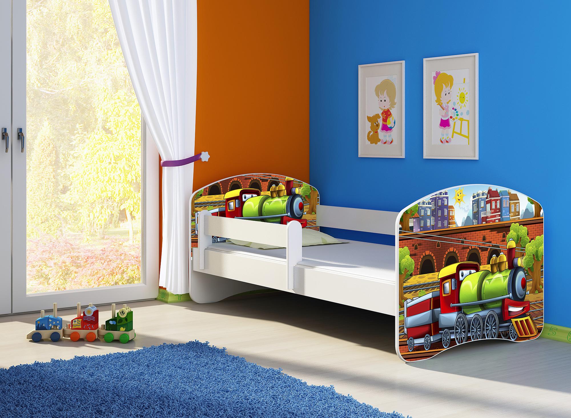 kinderbett fantasia clamaro in zwei gr en w hlbar mit oder ohne vorname ihres kind alles f r 39 s. Black Bedroom Furniture Sets. Home Design Ideas
