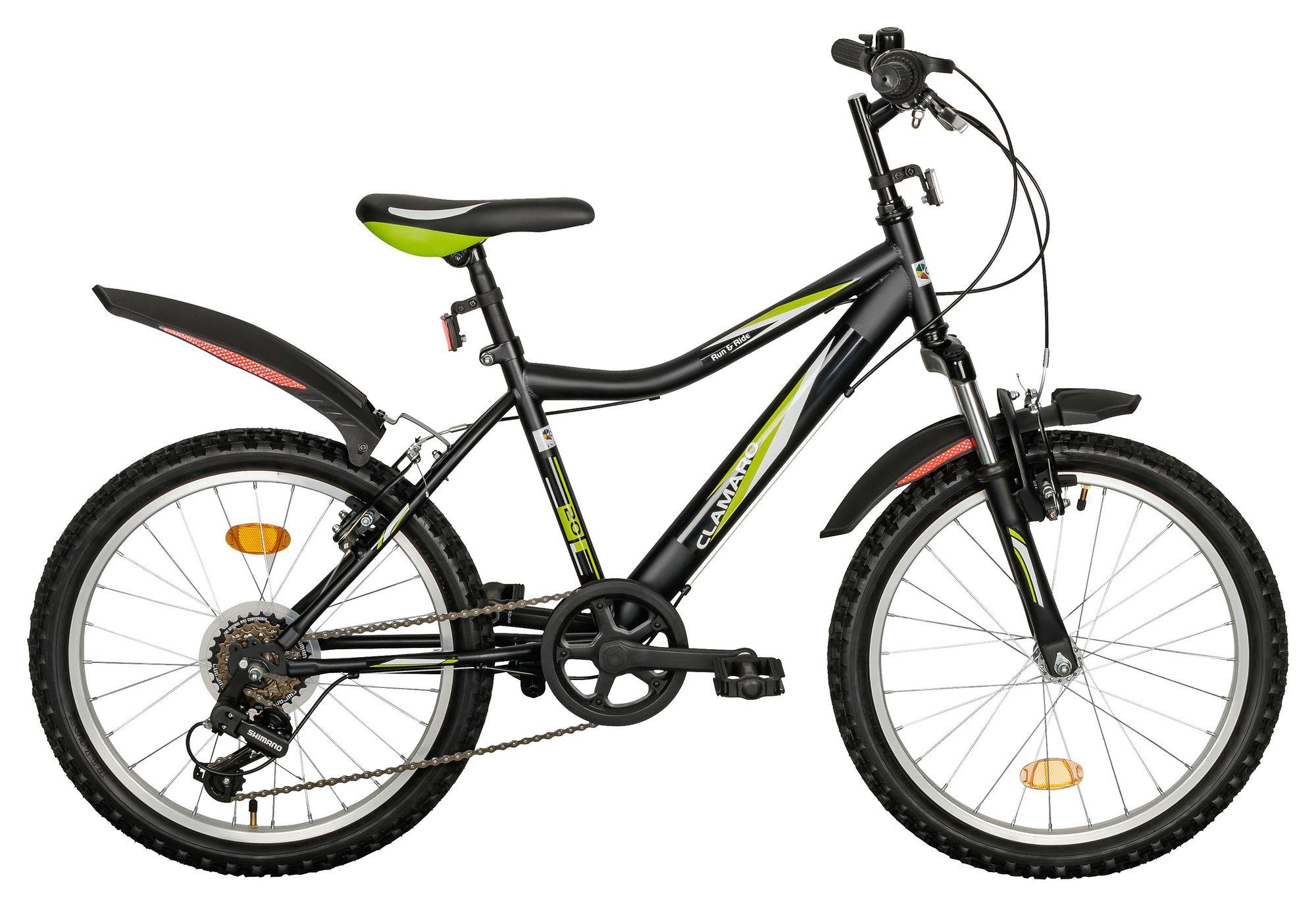 Clamaro Mountainbike, Shimano, Kinderfahrrad, Kinderrad Fahrrad 20 ...