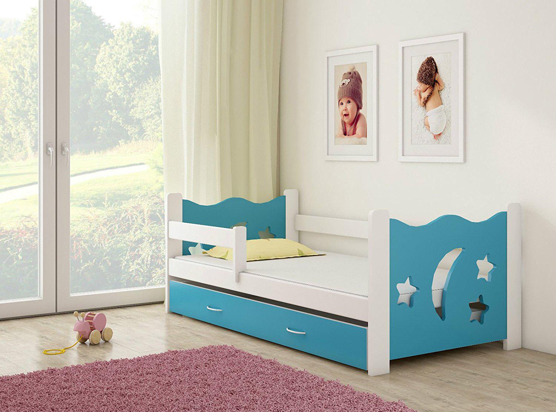 clamaro sternenhimmel kinderbett mit matratze 160x80 cm alles f r 39 s kind. Black Bedroom Furniture Sets. Home Design Ideas