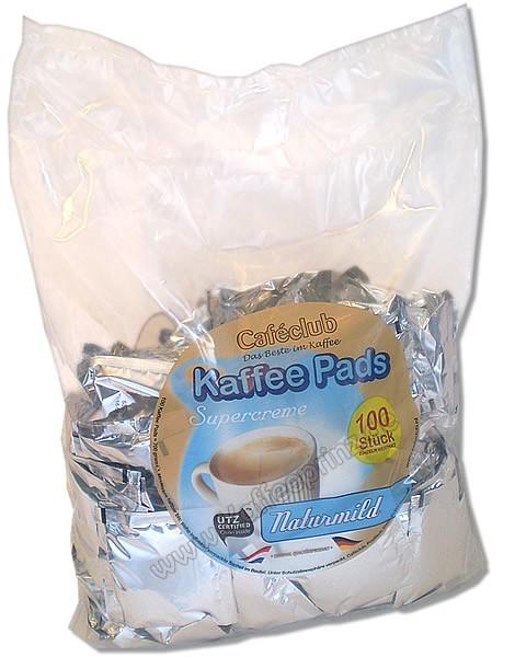 CAFECLUB Megabeutel Kaffeepads Naturmild