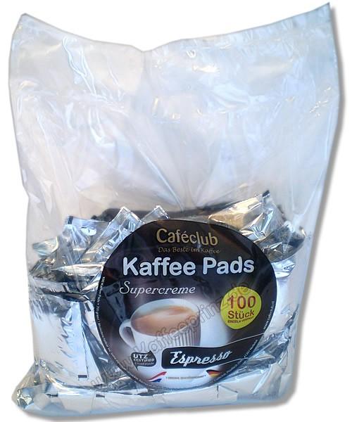 CAFECLUB Megabeutel Espressopads