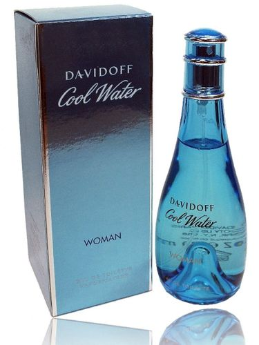 Davidoff Cool Water Woman 100 ml EDT Spray