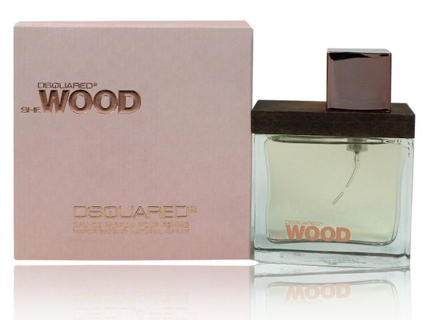 DSQUARED She Wood 30 ml EDP Eau de Parfum Spray Selten