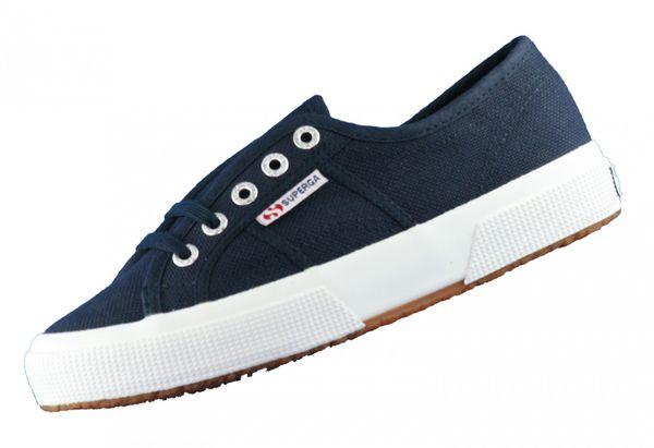 Superga 2750 Cotu S000010 Navy F43 Damen Sneaker