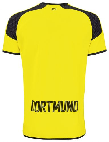 Puma BVB International Replica Trikot 749825 Gelb 11 EDEL – Bild 2