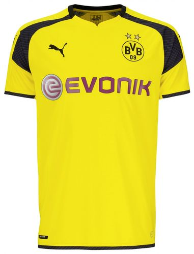 Puma BVB International Replica Trikot 749825 Gelb 11 EDEL – Bild 1