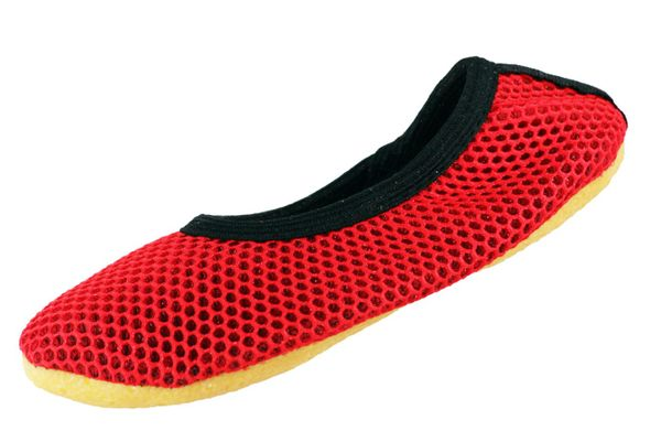 Beck 026 AirBecks Rot Kinder Damen Gymnastikschuhe  – Bild 1