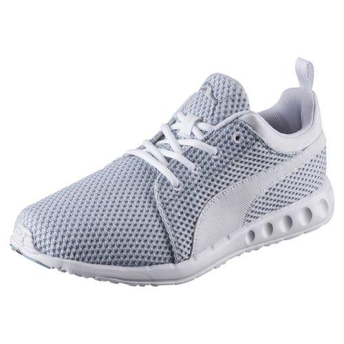 Puma CARSON Knitted Sneaker 189685 Grau 03 Herrenschuhe – Bild 1