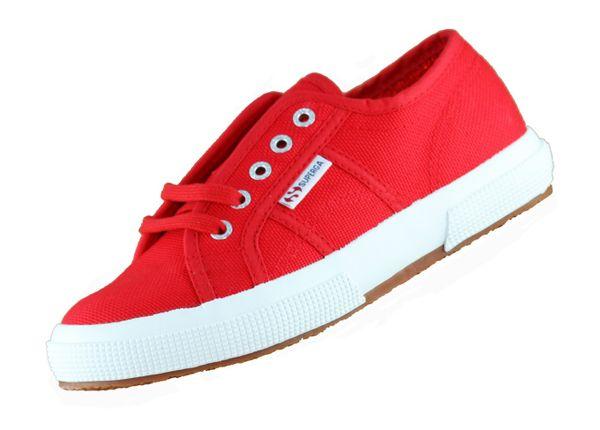 Superga 2750 JCot S0003C0 Rot C90 Damen Sneaker