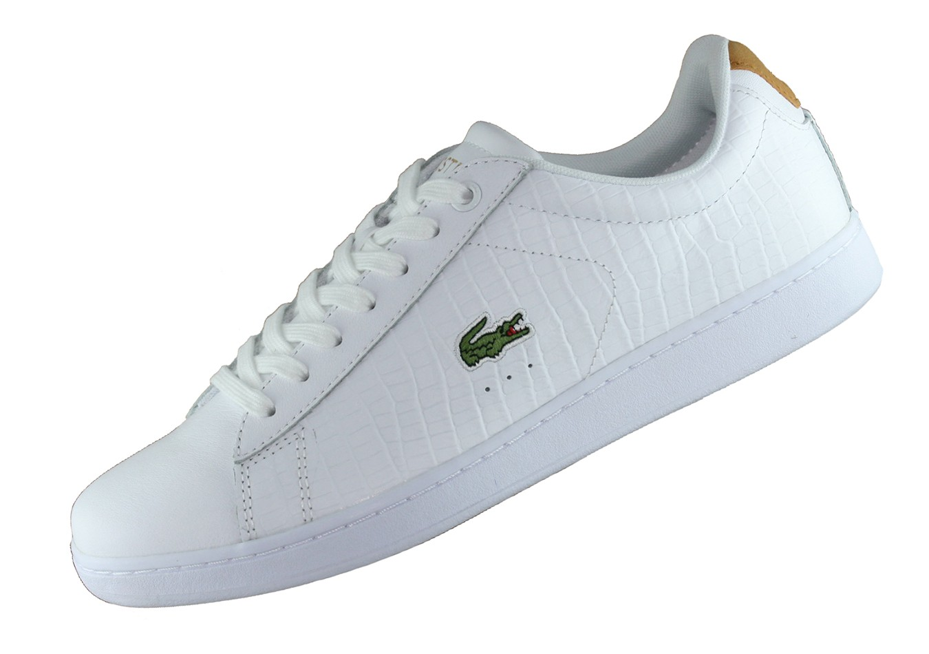 official photos 244a4 570f2 Lacoste Carnaby Evo G117 Weiss 733SPM1036291 Leder Sneaker