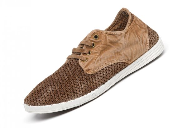 Natural World Eco 310E Sneaker 631 Braun Herren