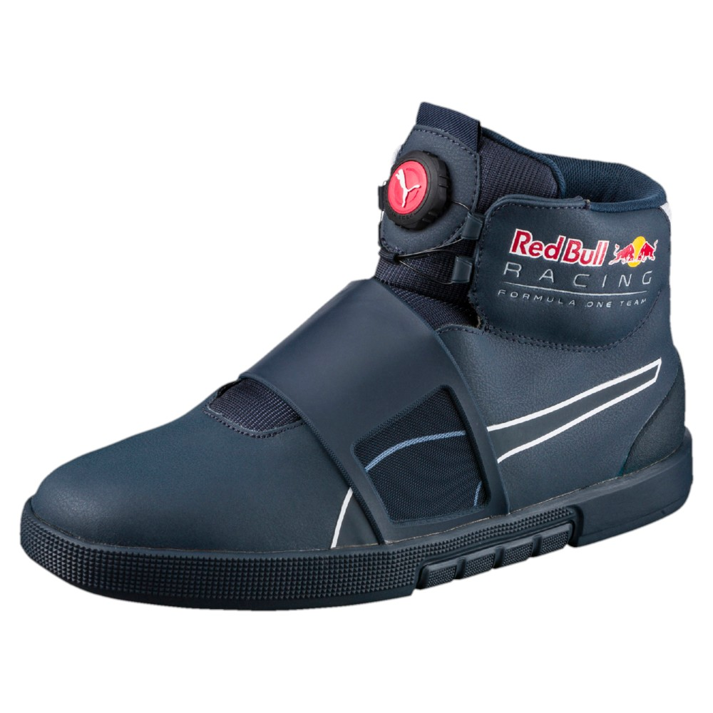 puma red bull racing disc mid herren schuhe 305939 blau 01. Black Bedroom Furniture Sets. Home Design Ideas