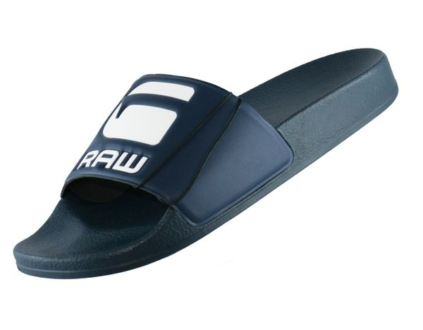G-Star Raw Cart Slide D056083593 Blau 881 Herren Badeschuhe