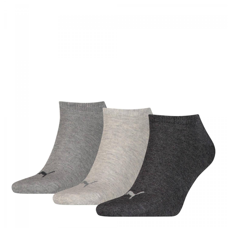 669dac47cb0c1f Details zu Puma Sneaker 3er Socken 261080001 Grau 800 Füßlinge Unisex