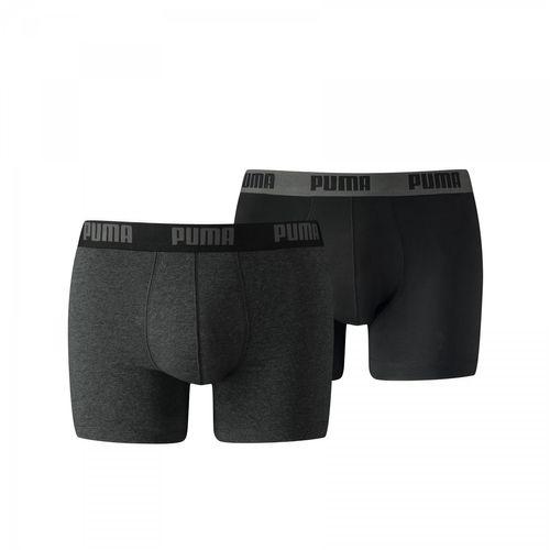 Puma Sport Boxer 2er Short 521015001 Schwarz 691 Herren
