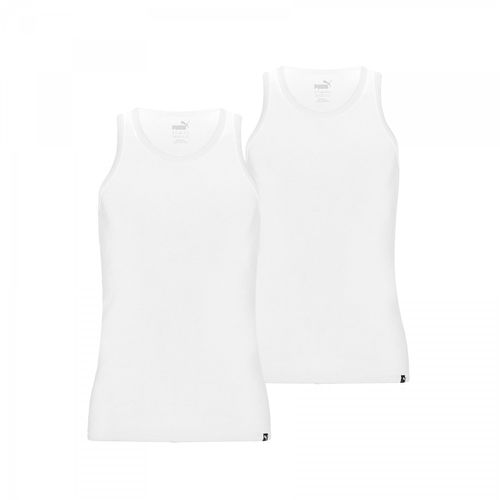 Puma Tank Top Basic 2P 572001001 Weiss 300 T-Shirt