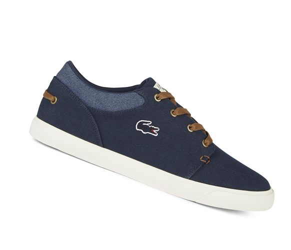 Lacoste Bayliss Vulc 317 Cam 734CAM00042Q8 Navy Canvas Sneaker