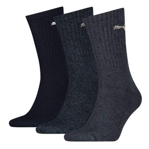 Puma Regular Crew 3er Socken 7312 Navy 321 Unisex