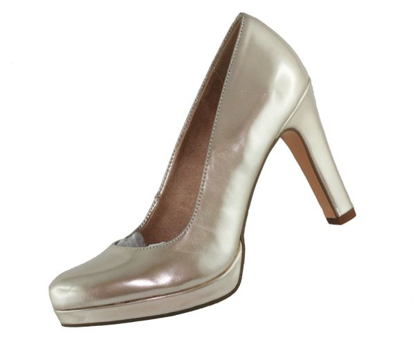 Tamaris Damen Pumps 22426 20 light Gold 909
