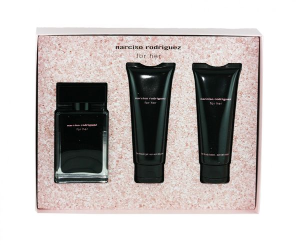 Narciso Rodriguez for Her SET 50 / 75 / 75 ml EDT Geschenkset