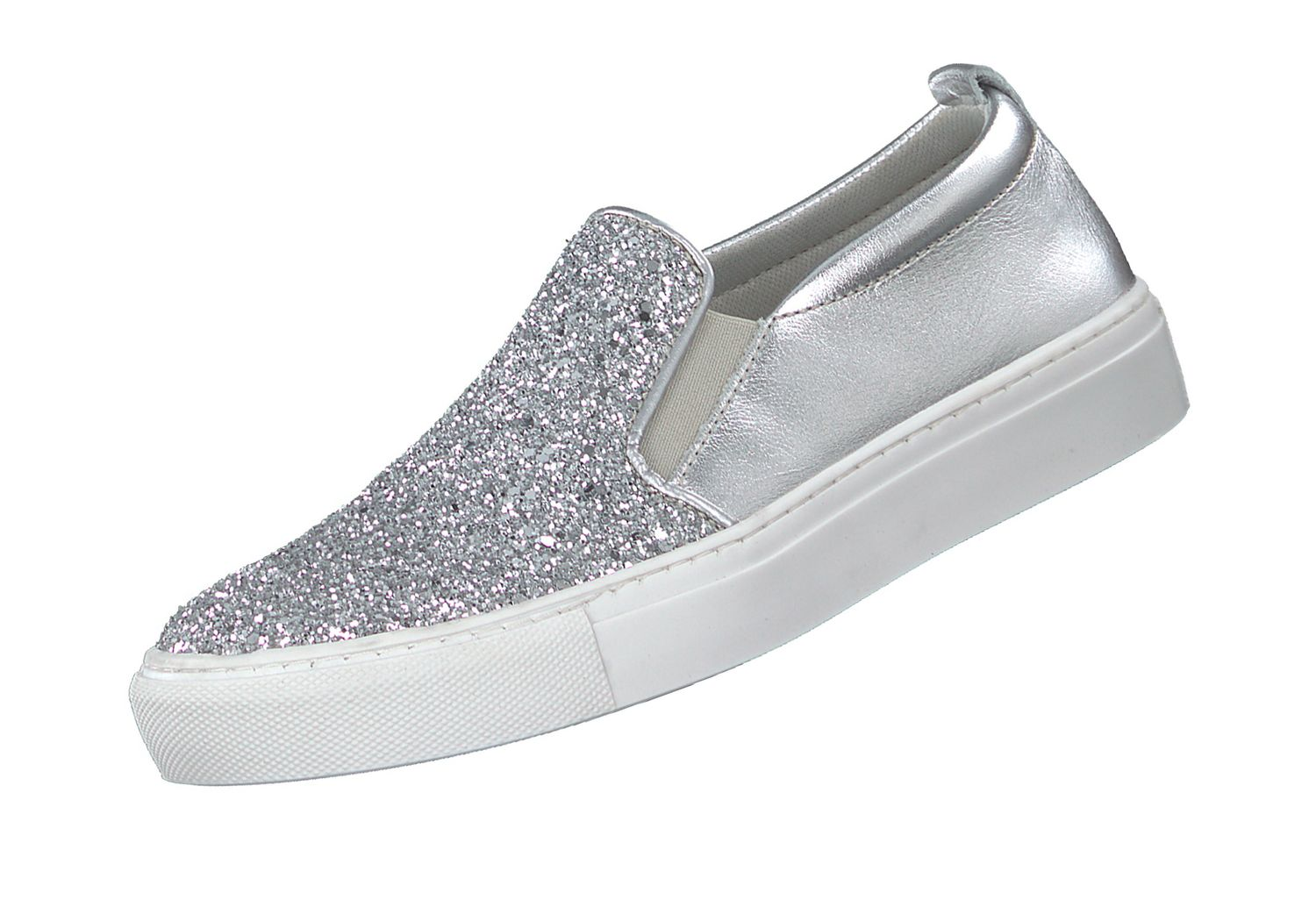 Tamaris Damen Slipper 24646 Silber 919 Slip On