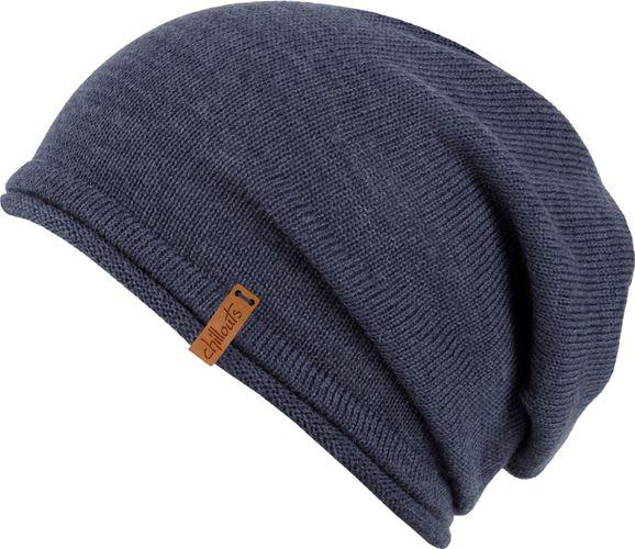Chillouts Leicester Hat 5058 Blau Lei 03 Beanie Mütze