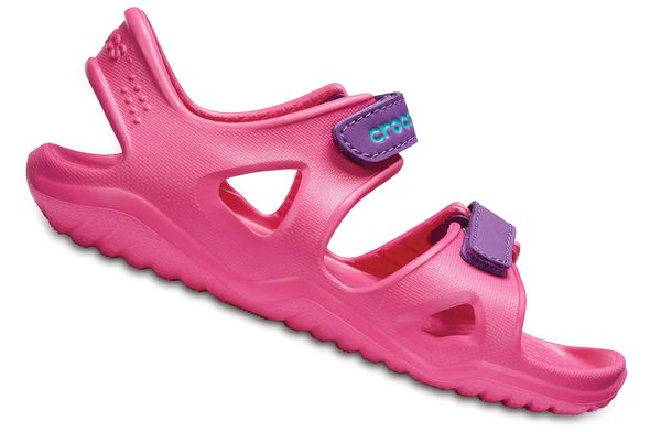 Crocs Swiftwater River Sandal 204988 Pink 60O Kinder – Bild 2