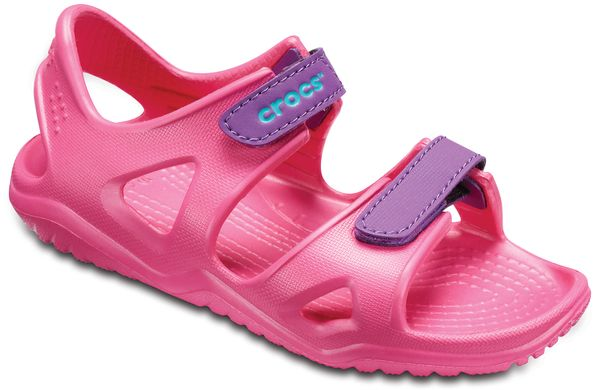 Crocs Swiftwater River Sandal 204988 Pink 60O Kinder – Bild 1