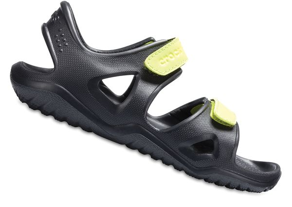 Crocs Swiftwater River Sandal 204988 Schwarz 09W Kinder – Bild 2