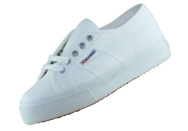 Superga 2730 Cotu S00C3N0 Weiss 901 Damen Sneaker