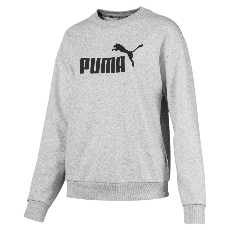 Puma Essentials Crew Damen Pulli 851794 Grau 04