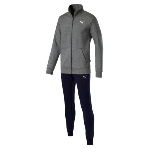 Puma Style Good Sweat Trainingsanzug 851555 Grau 03 Teamsport