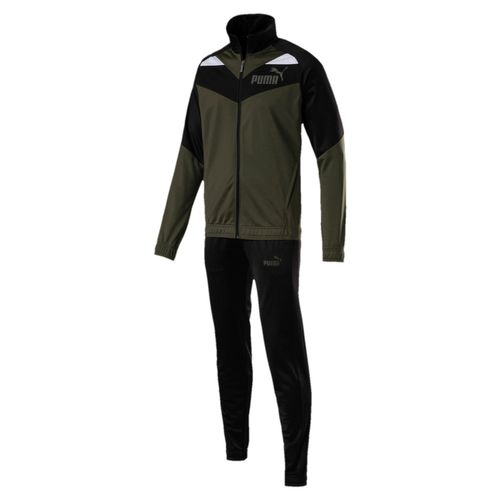 Puma Iconit Tricot Suit CI Trainingsanzug 851559 Forest 15 Teamsport