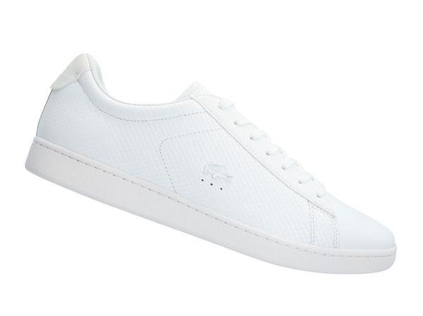 Lacoste Carnaby Evo 318 Weiss 736SPM0012001 Herren Sneaker