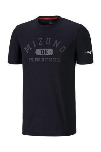 Mizuno Heritage 1906 Tee Herren K2GA8501 Schwarz 09 T-Shirt
