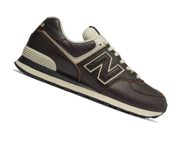 New Balance 574 Classics ML574LPK Retro Schwarz Herren Sneaker