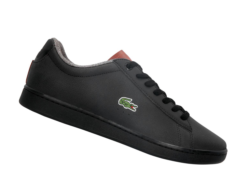 Trennschuhe gutes Geschäft Repliken LACOSTE Carnaby Evo 318 Schwarz 736SPM0010094 Sneaker