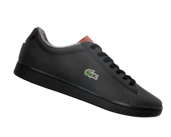 LACOSTE Carnaby Evo 318 Schwarz 736SPM0010094 Sneaker