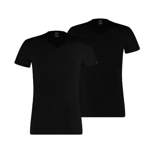 Puma V Neck Basic 2P 592002001 Schwarz 200 T-Shirt