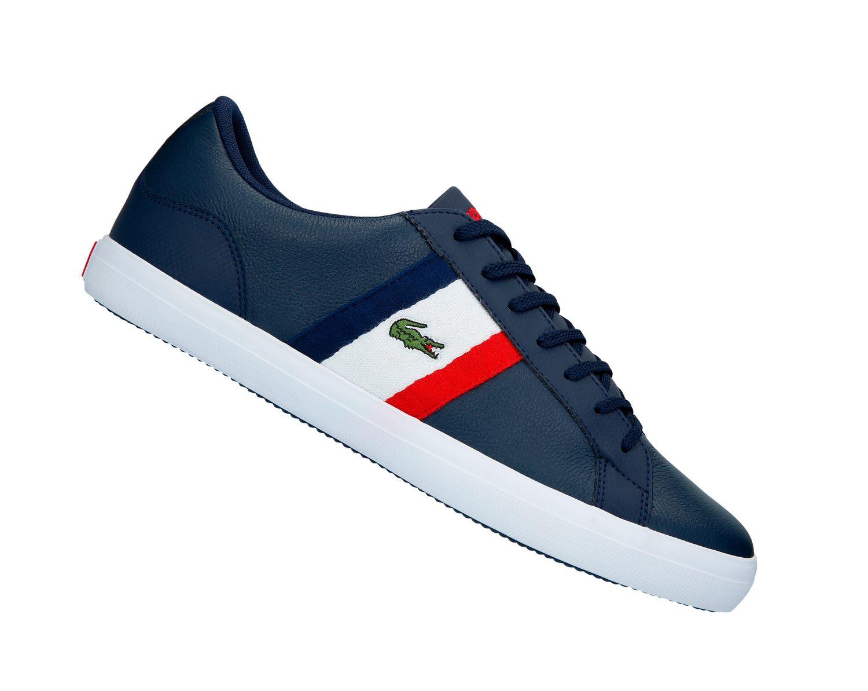 online store 3a43e f4bcc Lacoste Lerond 119 3 Cma Navy 737CMA00457A2 Herren Sneaker