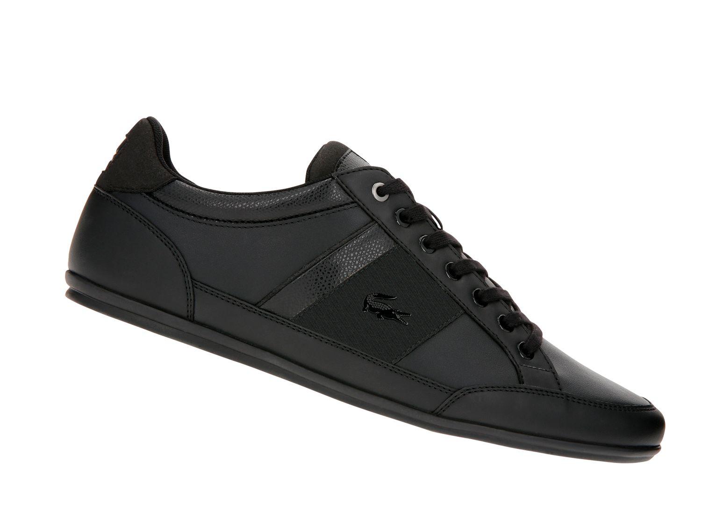 lacoste chaymon 119 schwarz 737cma000702h herren sneaker. Black Bedroom Furniture Sets. Home Design Ideas