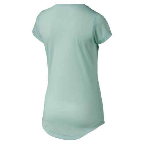 Puma Heather Cat Tee 517425 Aqua 09 Damen T-Shirt – Bild 2