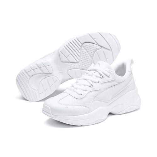 Puma Cilia 369778 Weiss 02 Damen Fashion Sneaker  – Bild 2