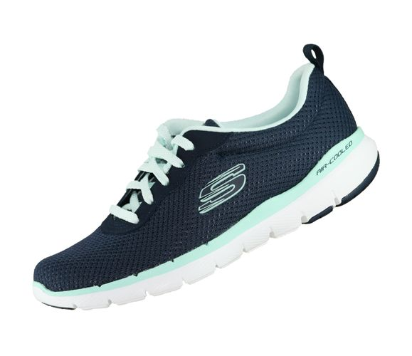 Skechers Flex Appeal 3.0 Damen 13070 Navy NVAQ Memory Foam