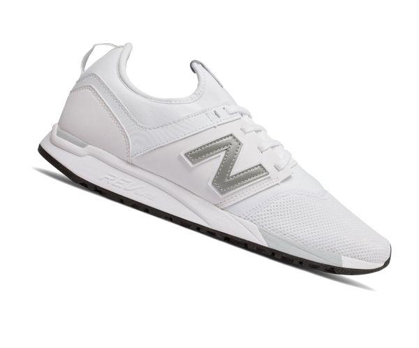 check out 0060e f431b New Balance 247 Lifestyle MRL247OM Weiss Herren Sneaker