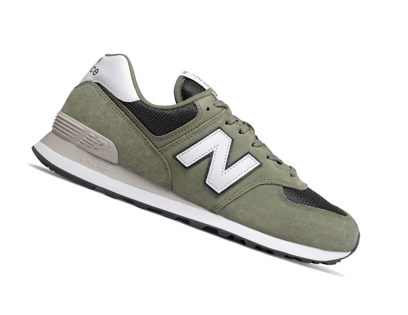 buy popular d370e 9b96f New Balance 574 Classics ML574ESP Grün Retro Herren Sneaker