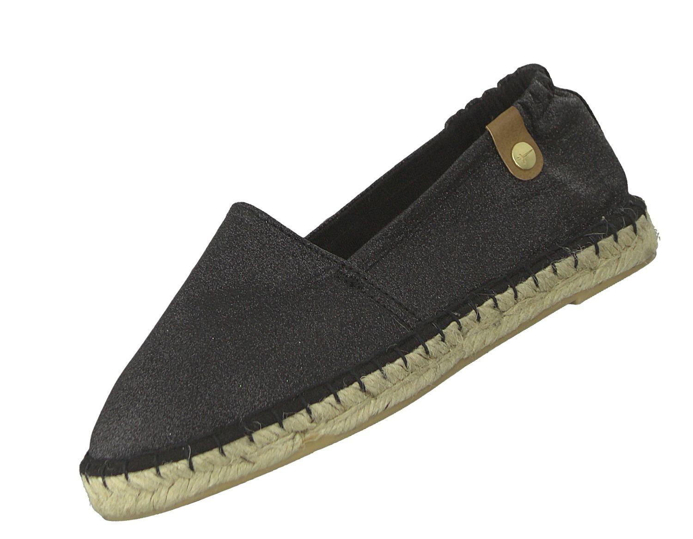 Tamaris Damen Espadrilles 1-24610-22 Schwarz 047 Sommer Sandale Freizeit Schuhe