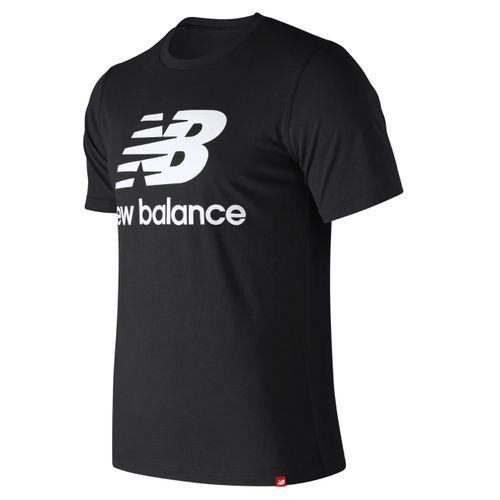 New Balance Herren Essential Shirt MT91546 Schwarz BK – Bild 1